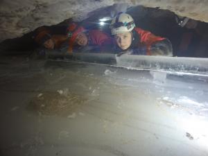 Студенты посетили восемь пещер в окрестностях Пинеги